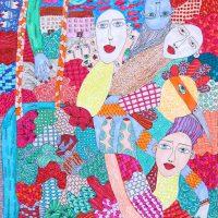 """Arte de Sofá 25"", 2019, caneta sobre papel, 24x32cm [INDISPONÍVEL / UNAVAILABLE]"