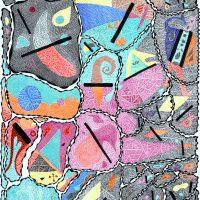 """D'après (Dubuffet)"", 2019, artpen sobre papel, 30x21cm [COLECÇÃO CRUZES CANHOTO]"