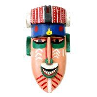 "Bozo, ""Máscara"", Mali, século XX, madeira pintada, 18x31x14cm [INDISPONÍVEL / UNAVAILABLE]"