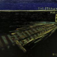 """""""The Starlit Mire"""", 2009, óleo sobre aglomerado de madeira, 89x89cm – CCZB19-001"""