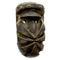 """Máscara Ritual Nyabwa Spider"", Bete, Costa do Marfim ou Libéria, século XX, madeira, 16x31x14cm [INDISPONÍVEL / UNAVAILABLE]"