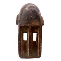 "Dogon, ""Máscara"", Mali, século XX, madeira, 18x37x13cm"