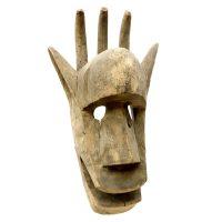 """Máscara Ritual"", Bambara, Mali, século XX, madeira, 23x44x18cm [INDISPONÍVEL / UNAVAILABLE]"