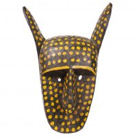 Máscara Sogobo, Bamana, séc. XX, Mali, Madeira, pigmentos, 30x47cm [INDISPONÍVEL / UNAVAILABLE]