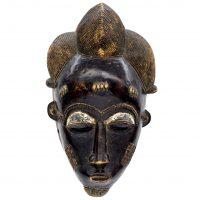 Máscara baule, Baule, séc. XX, Costa do Marfim, Madeira, 60x40x15cm [INDISPONÍVEL / UNAVAILABLE]