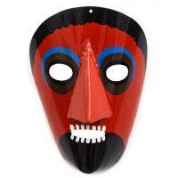 Óscar Barros, Máscara festa dos rapazes, 2015, Varge, Metal, tintas, 15x22cm [INDISPONÍVEL / UNAVAILABLE]