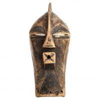 Máscara songye, Songye, séc. XX, R.D. Congo, Madeira, 19x32cm [INDISPONÍVEL / UNAVAILABLE]