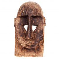 Máscara dogon macaco helmet, Dogon, séc. XX, Mali, Madeira, 19x30cm [INDISPONÍVEL / UNAVAILABLE]
