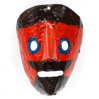Fernando Pinelo Tiza, Máscara festa dos rapazes, Varge, Metal, tintas, 17,5x23cm [INDISPONÍVEL / UNAVAILABLE]