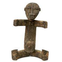 """""""Figura Relicário"""", Attié (Atyé, Akyé, Akié), Costa do Marfim, 1950-70, madeira, 28×52×11cm"""