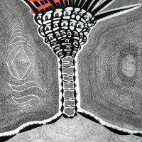 """""""Palmeira"""", 2020, artpen sobre papel, 21x30cm - Ref CCSF20-001"""