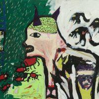 """Sem título"", 2014, técnica mista sobre cartão, 105x75cm [INDISPONÍVEL/UNAVAILABLE]"