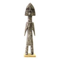 Figura Aklama, Adangbe, Gana, Séc. XX, madeira, pigmentos, 5x23x3cm – REF CCAK20-007