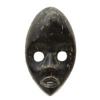 Face Mask, Dan, Libéria/Costa do Marfim, Séc. XX, madeira, 14x23x7cm – CC20-050