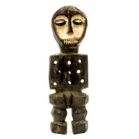 Figura Katanda, Lega, R.D. Congo, Séc. XX, madeira, 8x23x4cm – CC20-147