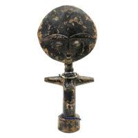 Akuaba Doll, Ashanti, Gana, Séc. XX, madeira, 11x23x5cm – CC20-151