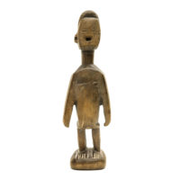 Figura Gemelar Hohovi, Fon, Benim, Séc. XX, madeira, 7x20x5cm – REF CC20-156