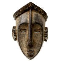 Máscara Mvondo, Lwalwa, R.D. Congo, Séc. XX, madeira, 20x30x12cm – CC20-103