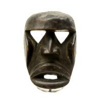 Máscara Passport Kagle, Kran, Costa do Marfim, Séc. XX, madeira, 10x16x5cm – CC19-610