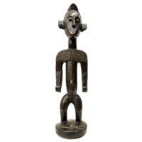 Figura Bamana, Bamana, Mali, Séc. XX, madeira, 14x56x15cm – REF CC20-171