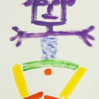 Boneco, 2018-07-26, Acrílico sobre cartolina, 30x42cm – CCID20-094