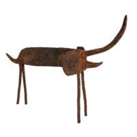 Elefante, Dogon, Mali, Séc. XX, Metal, 29x22x7cm – Ref CCT21-034