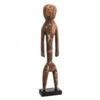 Figura Tchitcheri, Moba, Togo, Séc. XX, madeira, 9x41x7cm – Ref CCT21-028