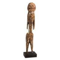 Figura Tchitcheri, Moba, Togo, Séc. XX, madeira, 4x19x4cm – Ref CCT21-030