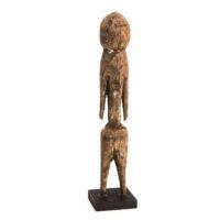 Figura Tchitcheri, Moba, Togo, Séc. XX, madeira, 3x19x3cm – Ref CCT21-029