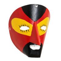 Máscara de Ritual de Inverno Transmontano, Tó Alves, Varge, Bragança, 2021, metal pintado, 18x21x15cm – Ref CCP21-101