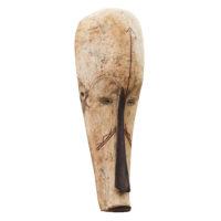 Máscara Ngil, Fang, Gabão, Séc. XX, madeira, pigmentos, 20×57×14cm – Ref CCT21-050