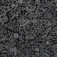 Sem título, 2020, caneta sobre tela, 60x110cm – Ref CCMP21-006