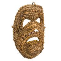 Máscara dos Rituais de Inverno Transmontano, Tó Alves, Varge - Bragança, 2021, escrinho, 17x26x10cm – Ref CCP21-113