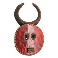 Máscara Goli, Baule, Costa do Marfim, Séc. XX, madeira, pigmentos, 28x48x10cm – Ref CCT21-069