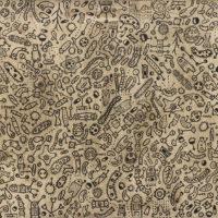 Sem título, 2020, caneta sobre madeira, 89x66cm – Ref CCMP21-010