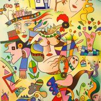 """Desfigurativos"", 2010, óleo sobre tela, 80x100cm [INDISPONÍVEL / UNAVAILABLE]"