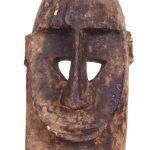 Máscara dogon macaco helmet, Dogon, séc. XX, Mali, Madeira, 19x30