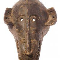 Máscara dogon macaco, Dogon, séc. XX, Mali, Madeira