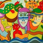 """""""Festa dos Diabos"""", 2014, Óleo sobre tela, 116x81cm [INDISPONÍVEL / UNAVAILABLE]"""