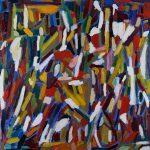 "Vitor Hugo Santos, ""Sem título"", 2004, Óleo sobre tela, 80x80 [INDISPONÍVEL / UNAVAILABLE]"