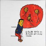 """Filipe Cerqueira, """"Sem título"""", 2014, Acrílico sobre papel, 30x30 [INDISPONÍVEL / UNAVAILABLE]"""