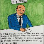 "Filipe Cerqueira, ""Friz Freleng"", 2014, Acrílico sobre papel, 30x30 [INDISPONÍVEL / UNAVAILABLE]"