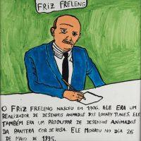 """""""Friz Freleng"""", 2014, acrílico sobre papel, 30x30cm [INDISPONÍVEL / UNAVAILABLE]"""