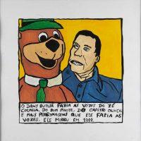 """""""Daws Butler"""", 2014, acrílico sobre papel, 30x30cm [INDISPONÍVEL / UNAVAILABLE]"""