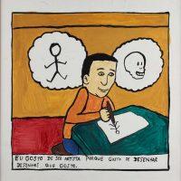 """""""Sem título"""", 2014, acrílico sobre papel, 30x30cm [INDISPONÍVEL / UNAVAILABLE]"""