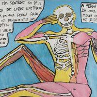 """""""O Corpo Humano"""", 2015, acrílico sobre papel, 50x35cm [INDISPONÍVEL / UNAVAILABLE]"""