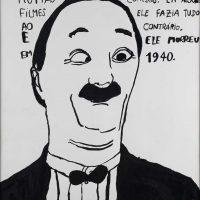 """""""Ben Turpin"""", 2014, acrílico sobre papel, 35x50cm [INDISPONÍVEL / UNAVAILABLE]"""