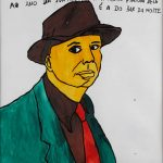 "Filipe Cerqueira, ""Edward Hopper"", 2015, Acrílico sobre papel, 35x50 [INDISPONÍVEL / UNAVAILABLE]"