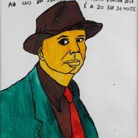 """Edward Hopper"", 2015, acrílico sobre papel, 35x50cm [INDISPONÍVEL / UNAVAILABLE]"