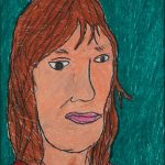 "Filipe Cerqueira, ""Retrato da Susana Resende"", 2008, Pastel de óleo sobre papel, 35x50 [INDISPONÍVEL / UNAVAILABLE]"